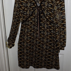 Fall Long Sleeve Dress-Small